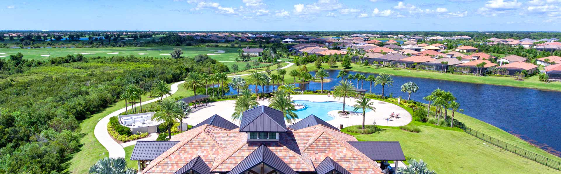 lakewood ranch aerial view